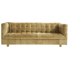 Ward Bennett Chesterfield Settee | From a unique collection of antique and modern sofas at http://www.1stdibs.com/furniture/seating/sofas/