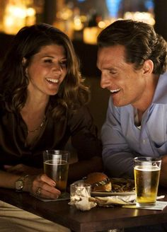 3/16/13 - Marisa Tomei & Matthew McConaughey in The Lincoln Lawyer- very thrilling though the cinematography was a little much.