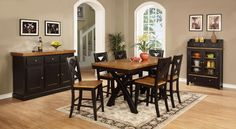 Country Marketplace - Chatham X Leg PubTable with Four X Back Barstools, $1,499.00 (http://www.countrymarketplaces.com/chatham-x-leg-pubtable-with-four-x-back-barstools/)