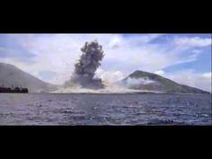 ▶ O momento exato da erupção de um vulcão / The exact timing of the eruption of a volcano - YouTube
