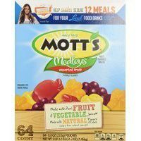 Mott's Medleys Assorted Fruit Snack Pouches - 64 Count Thank you for using our service
