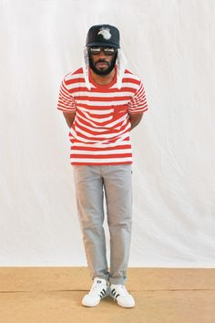 Stussy 2013 Spring Lookbook by Kenneth Cappello ft. A$AP Bari
