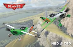 Ned and Zed in Disney Planes Movie Wallpapers Disney Planes Characters, Planes Pixar, Planes Movie, New Disney Movies, Pixar Movies, Disney Cars, Disney Stuff, Cartoon Movies, Disney Pixar
