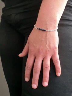 Bracelet Cristal/bracelet delicat/ bracelet par KAMforWMK sur Etsy