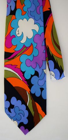 Vintage 1960's 70's EMILIO PUCCI Op Art by ElectricLadyland1