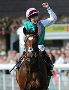 The one and only Frankel. So glad I'm around to see him race.