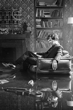 Sherlock B&W Season 4 Promo Picture ..