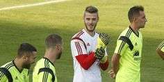De Gea on training