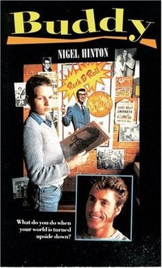 ---> Buddy, starring Roger Daltry, Wayne Goddard, Kay Stonham and Lorraine Plummer, 1986 Middle School Books, Middle School English, Somerset College, College Library, Who Book, Buddy Holly, English Reading, Reading Challenge, Book Recommendations
