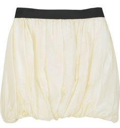 THAKOON | Cotton bubble skirt ($495)