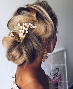 Ulyana Aster Wedding Hairstyle Inspiration