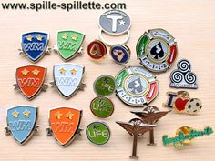 https://www.spillepersonalizzate.org Il nostro sito delle pins, distintivi, spille e spillette personalizzate finalmente rinnovato!