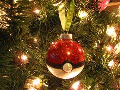 Pokeball Christmas Ornament by Kuroseika on Etsy