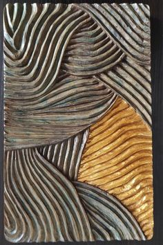 This unique Wall Art Sculpture is made of poplar wood, using hand -non electrical- tools. Painted with water based paints and copper gold paint and is finished with oil. #Woodcarving #Abstractart #handcarved #Geometricsculpture #abstract #abstractart #Minimalart #handmade #wallart #woodsculpture #Skalizo #ChourmouziadisVasileios Geometric Sculpture, Wood Sculpture, Sculptures, Wooden Wall Art, Wooden Walls, Wood Art, Gifts For Art Lovers, Lovers Art, Electrical Tools