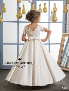 1d380739302 Flower girl dress 16-1548 - kingdom.boutique Pink Flower Girl Dresses