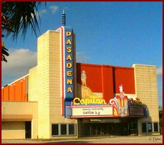 El Capitan..old theater in Pasadena,Texas.