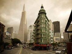 Columbus and Transamerica, San Francisco | California (by Wade Griffith)