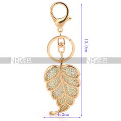 Wholesale 18k Gold Plated Zinc Alloy Leaf Keychains Bag Hangings Crystal Gift for Children Free Shipping Rated 5.0 /5 based on 11 customer reviews  100.0% of buyers enjoyed this product! (11 votes) 9 orders Price: US $4.58 / pieceIC1407-1Wholesale 18k Gold Plated Zinc Alloy Leaf Keychains Bag Hangings Crystal Gift for Children Free Shipping Rated 5.0 /5 based on 11 customer reviews  100.0% of buyers enjoyed this product! (11 votes) 9 orders
