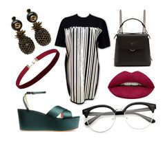 """""""Go to Tate Modern"""" by bedzia on Polyvore featuring Alexander Wang, Fendi, Gucci, Huda Beauty and modern"""