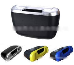 Car & Truck Abs Tissue Box Trash Can Paste Garbage Box Home Desk Waste Container