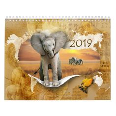 Animals calendar For next year's Giraffe, Elephant, Owl Cat, Funny Expressions, Event Template, Holidays And Events, Gifts For Family, Tortoise