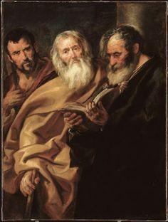 Ο Άγιος Ματθαίος και δυο απόστολοι (1640) Μουσείο Καλών Τεχνών στην πόλη Λιλ της Γαλλίας
