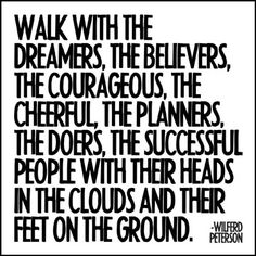 Walk With Dreamers Quotable Card