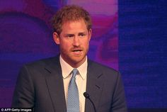 Prince Harry made his heartfelt speech after congratulating the winners at this year's awa...