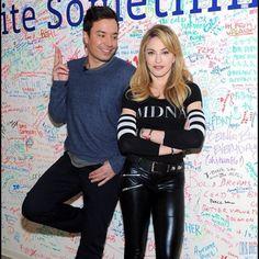 Jimmy Fallon and Madonna