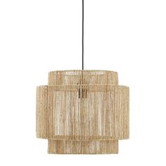 Sisal, Ceiling Light Shades, Lamp Light, Ceiling Lights, Hanging Lamp Shade, Table Lamp Shades, Bedroom Lampshade, Structure Metal, Hemp
