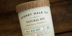Sydney Hale Co. (candles) [via The Dieline]