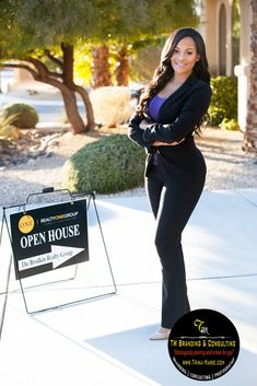 Thinking of being a real-estate agent, but do not know where to start? First, you would have to determine if this kind of career is the right one for you. Most people usually think that to be a successful real-estate agent, you just n Real Estate Career, Real Estate Business, Selling Real Estate, Real Estate Investing, Business Women, Business Ideas, Business Headshots, Business Portrait, Professional Headshots