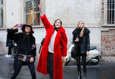 Vogue.com is capturing the best looks on the streets outside this season's Milan shows.