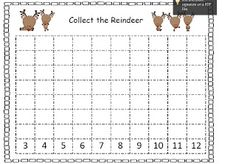 Classroom Freebies Too: Collect the Reindeer Game