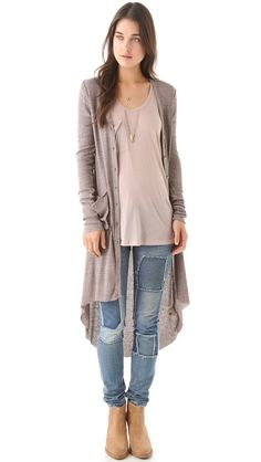 Bonita Ribbed Up Cardigan Dress.  Who would like to get this for me for Christmas? Or for Friday? :)