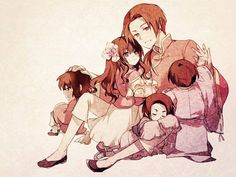 Hetalia China and young!Asian countries. So cute. I love the art :)
