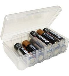 TOPSELLER! Dial AA Battery Storage Box $3.97