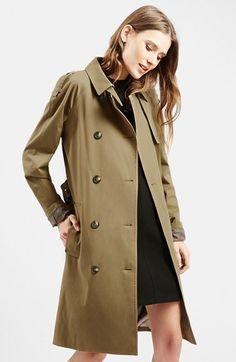 Topshop Double Breasted Trench.