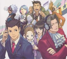 Amazon.com: Phoenix Wright Ace Attorney Dual Destinies poster 28 inch x 24 inch / 16 inch x 13 inch: Posters & Prints