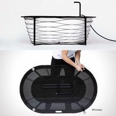 From Prodeez Product Design: Xtend Bathtub by Carina Deuschl. For more info and images visit www.prodeez.com #furniture #bathtub #creative #design #ideas #designer #carinadeuschl #interior #interiordesign #product #productdesign #instadesign #furnituredesign #prodeez #industrialdesign #architecture #style