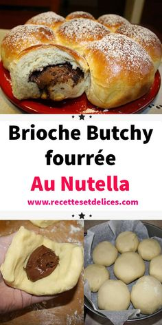 Brioche Nutella, Sweet Recipes, Healthy Recipes, Cooking Chef, Beignets, Coco, Brunch, Food And Drink, Breakfast