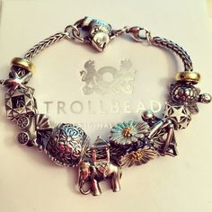 #trollbeads #silver #charms