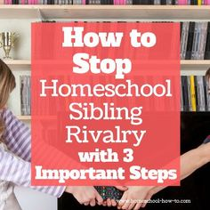 Discover some simple tips that will help you all but eliminate homeschool sibling rivalry in your home. End the fighting and start living in peace. Parenting Articles, Parenting Hacks, Therapy Games, Sibling Rivalry, Home Schooling, Family Games, Siblings, New Books, Letter Board