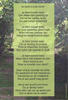Je bent zoveel meer  www.troostgeschenk.nl