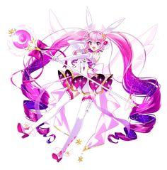 Anime Chibi, Kawaii Anime, Anime Art, Elsword, Manga Love, Cute Chibi, Fantasy Girl, Character Design Inspiration, Magical Girl