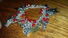 Harry potter themed charm bracelet