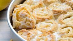 Ingredients  Rolls 1 can (12 oz) Pillsbury™ Grands!™ Big & Flaky refrigerated crescent dinner rolls 4 oz (half 8-oz package) cream cheese 2 tablespoons granulated sugar