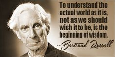 Bertrand Russell quote #wisdomquotes