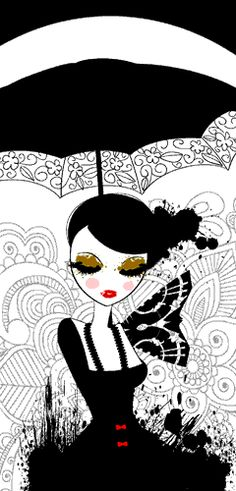 Alisha Hinds - Illustrator & Graphic Designer...love her! Her minimalistic colors are fabulous