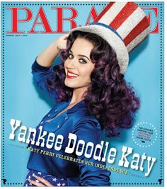 katy perry magazine | Katy Perry Gets Patriotic for Parade Magazine